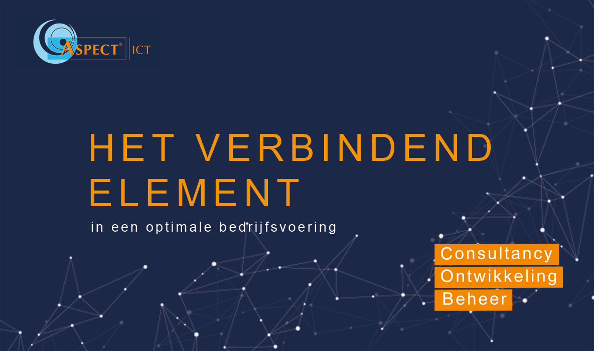 Aspect ICT - Het verbindend element
